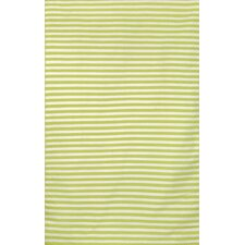 Sorrento Mini Stripe Lime Indoor/Outdoor Rug