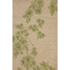 Carlton Green Branches Indoor/Outdoor Rug