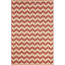 Monterey Sunset Zig Zag Indoor/Outdoor Rug