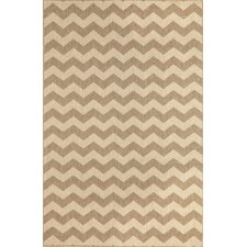 Monterey Neutral Zig Zag Indoor/Outdoor Rug