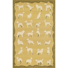 Terrace Yellow Dog Walk Rug