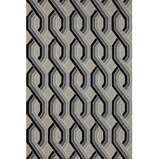 Carlton Black Braids Indoor/Outdoor Rug