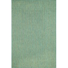 Monterey Ocean Texture Stripe Indoor/Outdoor Rug