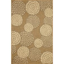 Monterey Neutral Mums Rug