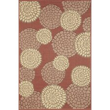 Monterey Sunset Mums Indoor/Outdoor Rug