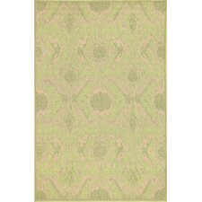 Monterey Green Ikat Indoor/Outdoor Rug