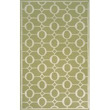 Spello Arabesque Sage Outdoor Area Rug