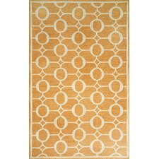 <strong>Liora Manne</strong> Spello Arabesque Orange Outdoor Rug