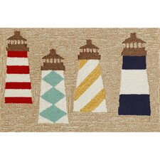Frontporch Lighthouses Area Rug