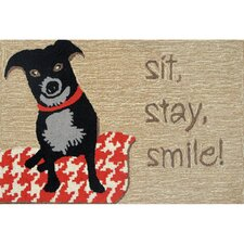 Frontporch Smile Area Rug