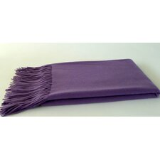 <strong>Cashmere Republic</strong> Signature Waterwave Cashmere / Wool Throw