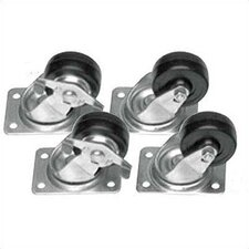 "CASTER/CM - set of four 4"" casters"