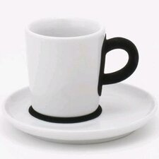 <strong>KAHLA</strong> Five Senses Touch! 3 oz. Espresso Cup with Saucer