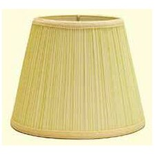 <strong>Deran Lamp Shades</strong> Down Bridge Hard Back Dulcote Mushroom Pleat 406 Shade