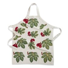 Fig Red Green Apron