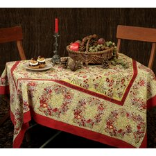 <strong>Couleur Nature</strong> Winter Garden Wreath Tablecloth