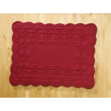 Sonia Red Placemat (Set of 6)