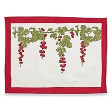 Gooseberry Red Green Placemat (Set of 6)
