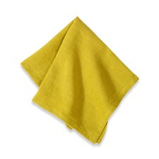 <strong>Couleur Nature</strong> Laundered Linen Solid Napkin (Set of 4)