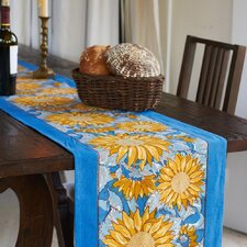 <strong>Couleur Nature</strong> Sunflower Table Runner