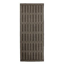 Kasperi Black and Brown Machine Woven Rug