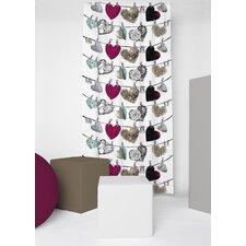 Hehku Unlined Slot Top Single Panel Curtain
