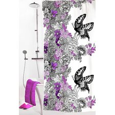 Mon Amour Polyester Shower Curtain