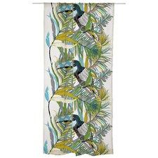 Kuiske Unlined Slot Top Single Panel Curtain