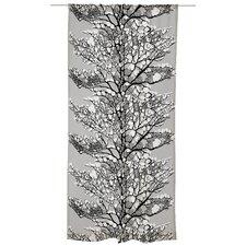 Lumi Unlined Slot Top Single Panel Curtain