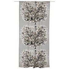 Aronia Unlined Slot Top Single Panel Curtain
