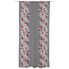 Ruusunen Unlined Slot Top Single Panel Curtain