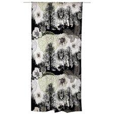 Leijonapalmu Unlined Slot Top Single Panel Curtain