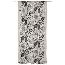 Muuan Unlined Slot Top Single Panel Curtain
