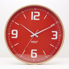 "Moderne 21"" Wall Clock"