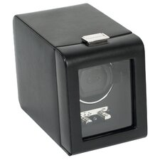 Heritage Module 2.1 Single Watch Winder with Cover in Black