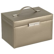 Queen's Court Large Jewelry Case in Bronze