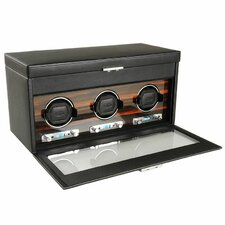 Roadster Triple Watch Box