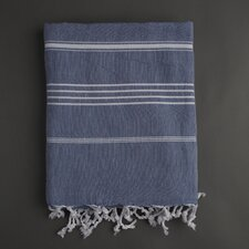 <strong>Nine Space</strong> Stripe Fouta Bath Towel
