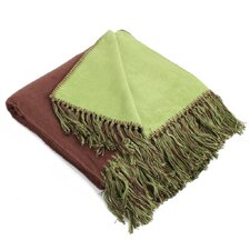 Boutique Living Bamboo Viscose Brushed Throw Blanket