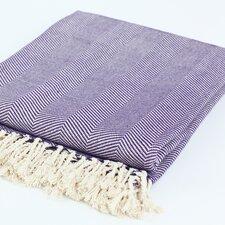 Nine Space Herringbone Throw Blanket