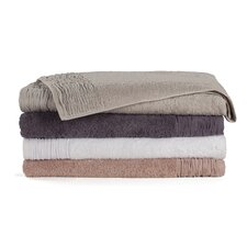 <strong>Nine Space</strong> Pleated 3 Piece Towel Set