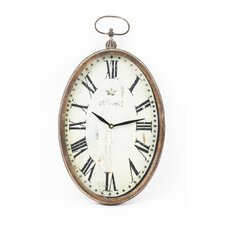 Paris Oval Wall Clock