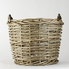 Large French Market Round Basket