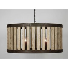 Barrel Drum Foyer Pendant