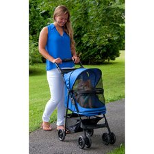 No Zip Happy Trails Pet Stroller