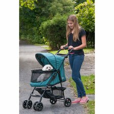 No Zip Happy Trails Standard Pet Stroller