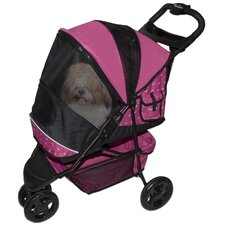 Special Edition Pet Stroller in Raspberry