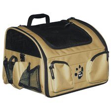 Ultimate Traveler 3-in-1 Pet Carrier in Tan