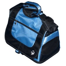 Messenger Bag Pet Carrier in Caribbean Blue