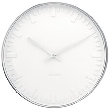 Mr. White Station Wall Clock